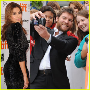 Sam Worthington & Eva Mendes: 'Last Night' at TIFF