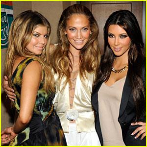 Fergie, Kim Kardashian, Jennifer Lopez: Dolphins Opener!