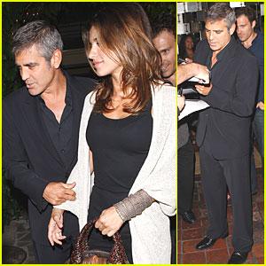 George Clooney & Elisabetta Canalis: Long, Long Ago...