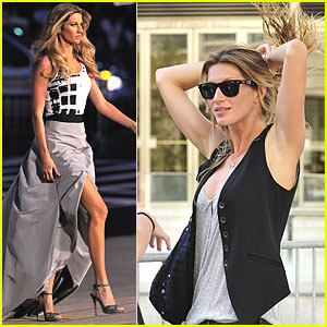 Gisele Bundchen: Runway Ready for Fashion's Night Out!