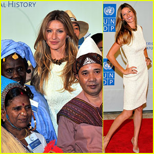 Gisele Bundchen: UN Summit Supermodel