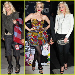 Gwen Stefani: Fashion's Night Out with Sephora!