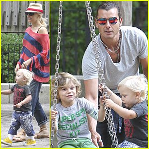 Gwen Stefani: Family Day of Play!