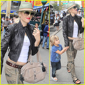 Gwen Stefani: Salon Before Sephora Appearance!