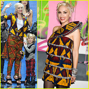 Gwen Stefani: L.A.M.B. Fashion Week Show!