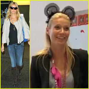 Gwyneth Paltrow: Minnie Mouse Ears!