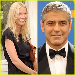 Gwyneth Paltrow Stands Up To Cancer with George Clooney!
