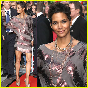 Halle Berry 'Reveals' Herself in Germany