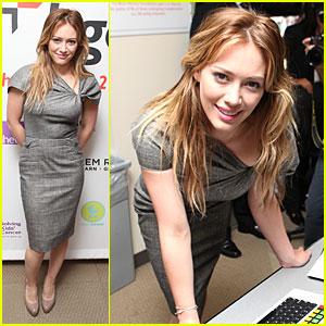 Hilary Duff: BGC Charity Day!