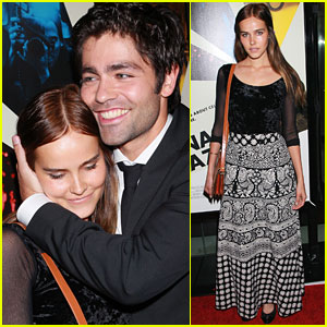 Isabel Lucas & Adrian Grenier: 'Teenage Paparazzo' Pair