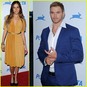 Isabel Lucas &#038; Kellan Lutz: PETA Proud