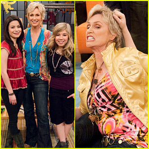 Jane Lynch on 'iCarly' -- FIRST LOOK