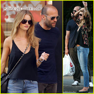 Rosie Huntington-Whiteley & Jason Statham: Cabbin' Couple