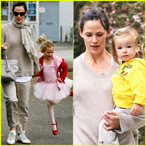 Jennifer Garner: Violet is a Beaming Ballerina!