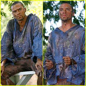 Jesse Williams is a Colonial in Chains