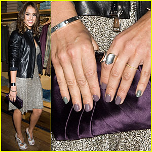 Jessica Alba & Ralph Lauren: Fashion's Night Out!