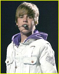 Justin Bieber Soaks a State Trooper