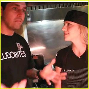 Kara Killmer: Cooking Lesson with Chef Ludo!