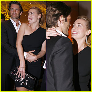 Kate Winslet & Louis Dowler: Vanity Fair Flirty!