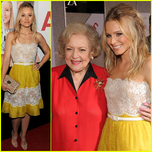 Kristen Bell: 'You Again' Premiere With Betty White!