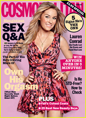 Lauren Conrad Covers Cosmopolitan October 2010
