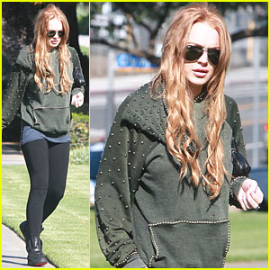 Lindsay Lohan: Back to Strawberry Blonde!