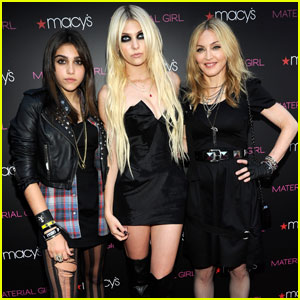 Madonna: 'Material Girl' Launch with Lourdes & Taylor Momsen!