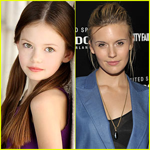 Maggie Grace Joins Twilight Clan -- Mackenzie Foy Too!