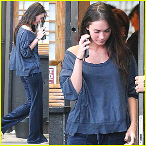 Megan Fox: Sushi in Studio City!