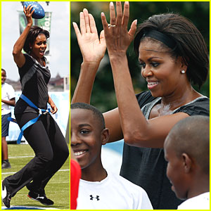 Michelle Obama: Play 60 in New Orleans!