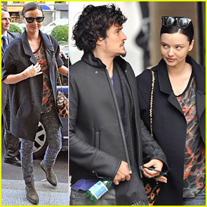Miranda Kerr & Orlando Bloom: Neuf Lune Lovebirds