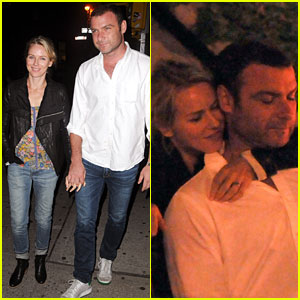 Naomi Watts: Birthday Dinner Date with Liev Schreiber!