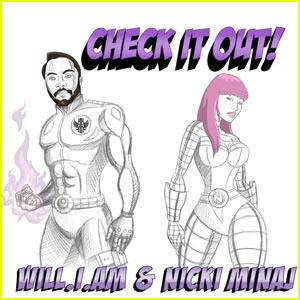 Nicki Minaj: 'Check It Out' Artwork & VMAs Promo!