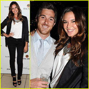 Dave Annable: 'Brothers & Sisters' Party With Odette Yustman!