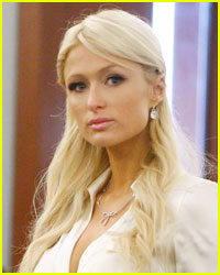 Paris Hilton Flies Away After Court