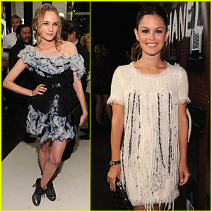Rachel Bilson: Chanel Soho Opening with Diane Kruger!