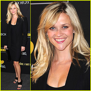 Reese Witherspoon: Livestrong Foundation Support!