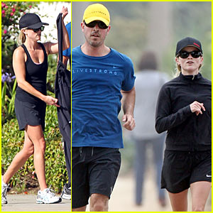 Reese Witherspoon: Running with Jim Toth!
