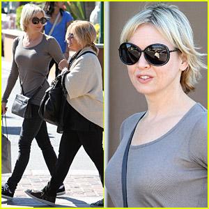 Renee Zellweger Shops With Bradley Cooper's Mom