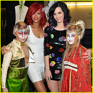 Rihanna: Katy Perry's Bachelorette Party in Vegas!