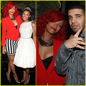Rihanna: Drake Concert & After-Party!