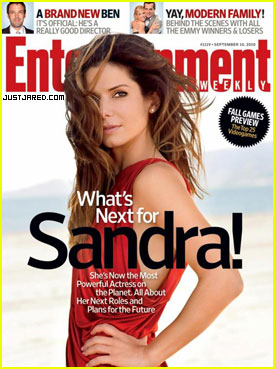 Sandra Bullock Covers Entertainment Weekly