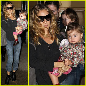 Sarah Jessica Parker: Doctor's Trip with the Twins