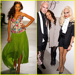 Selita Ebanks Closes 'The Blonds' Fashion Week Show