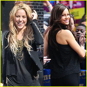 Shakira & Sofia Vergara Cause a Colombian Stir