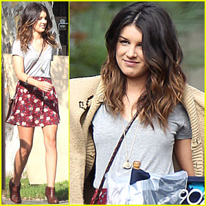 Shenae Grimes is a Girl with a Gun