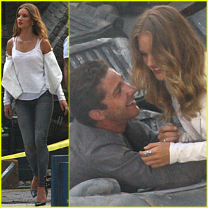 Shia LaBeouf & Rosie Huntington-Whiteley: Detroit Duo