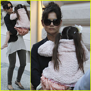 Suri Cruise: Bonding Time with Katie?  Czech!