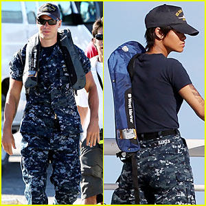 Taylor Kitsch: BATTLESHIP Scenes with Rihanna!
