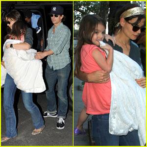Tom Cruise & Katie Holmes: Serendipity Family Fun